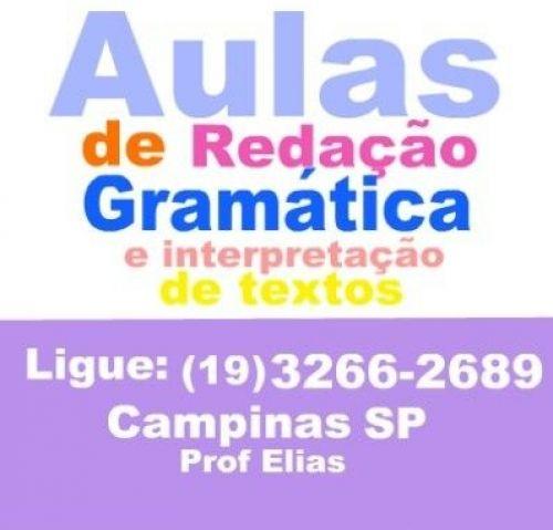 Aulas de Gramática e Redação em Campinas SP (19) 3266-2689 187488