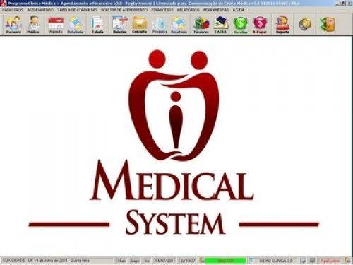 Programa para Consultório e Clinica Médica com Agenda e Financeiro v3.0 3101