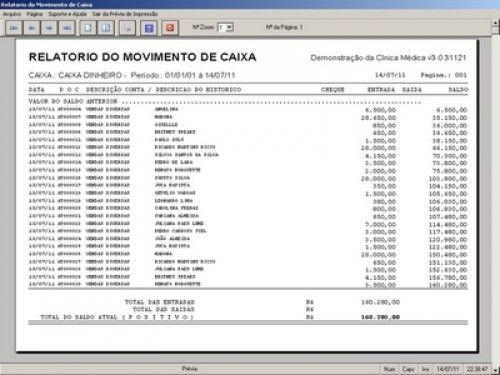 Programa para Consultório e Clinica Médica com Agenda e Financeiro v3.0 3103