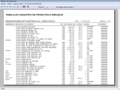 Programa para AutoElétrica + Ordem de Serviço Vendas e Financeiro v2.0 6694