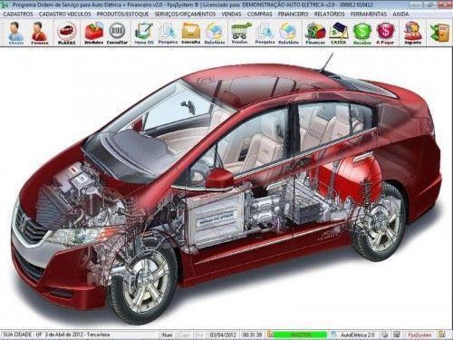 Programa para AutoElétrica + Ordem de Serviço Vendas e Financeiro v2.0 6700