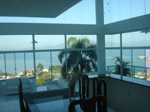 Casa Florianópolis - Vista Para o Mar 10058