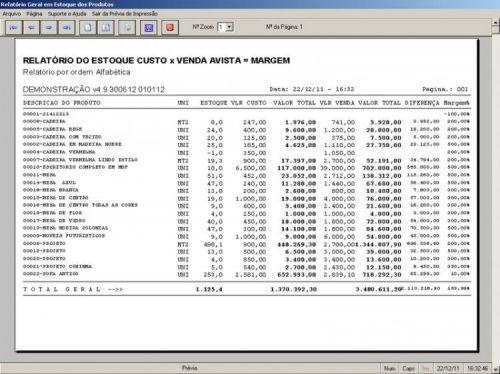 Programa para Marcenaria com Ordem de Serviço, Orçamentos, Vendas e Financeiro v4.9 - Fpqsystem 11542