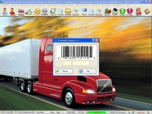 Programa OS Oficina Mecanica Caminhão com Vendas, Compras e Financeiro v4.2 11596