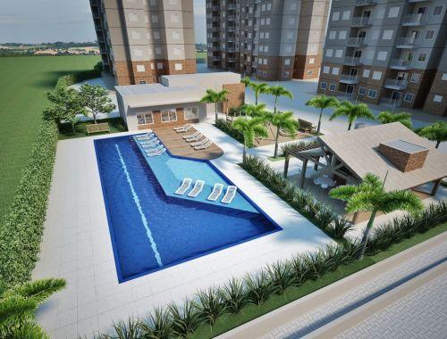 Apartamentos de 58 m2 Residencial Mariana Maria no 13º Andar Salto Sp 265432