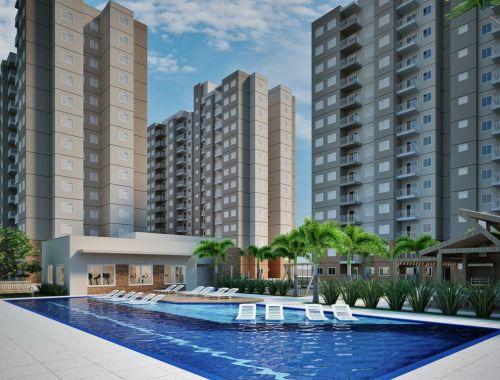 Apartamentos de 58 m2 Residencial Mariana Maria no 13º Andar Salto Sp 265434