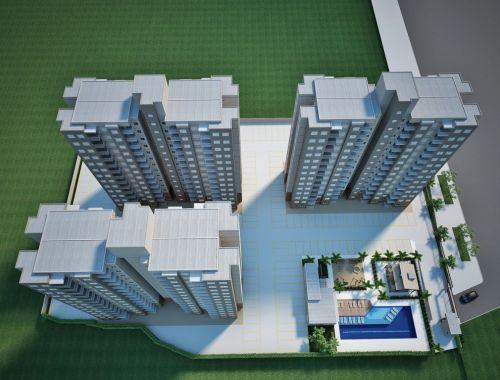 Apartamentos de 58 m2 Residencial Mariana Maria no 13º Andar Salto Sp 265435