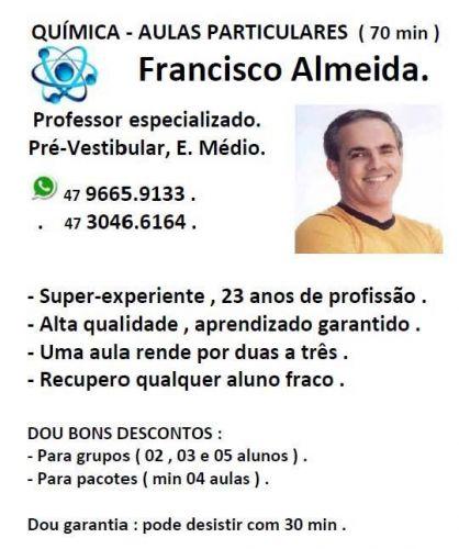 Aulas Particulares  Química - Ensino Médio  Pré Vestibular  Itajaí  . 257043