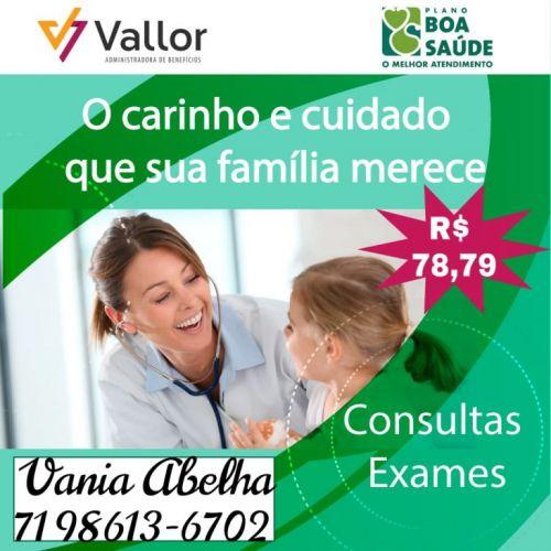 Boa Saúde - Plano De  Saúde Para Consultas e Exames - Vendas On Line - 71 98613-6702  543320