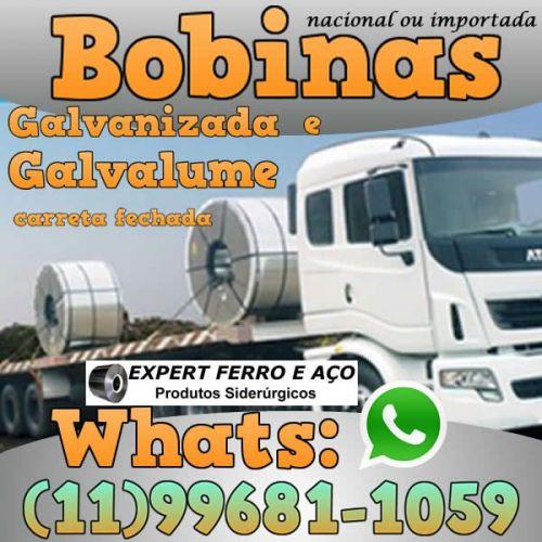 Bobinas de Chapa Galvanizada Galvalume Zincada Aço Carbono Expert Ferro e Aço Distribuidor  fabricar telhas metalicas dry wall slitter steel frame 499090