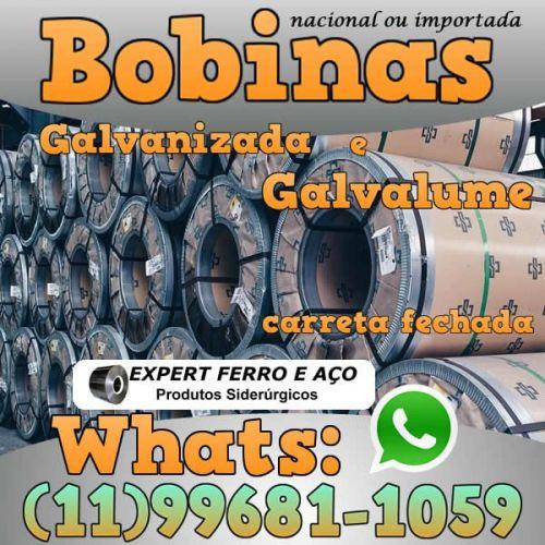 Bobinas de Chapa Galvanizada Galvalume Zincada Aço Carbono Expert Ferro e Aço Distribuidor  fabricar telhas metalicas dry wall slitter steel frame 499091