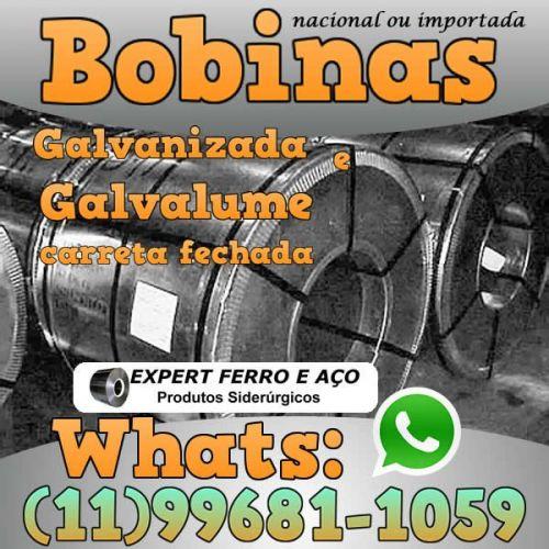 Bobinas de Chapa Galvanizada Galvalume Zincada Aço Carbono Expert Ferro e Aço Distribuidor  fabricar telhas metalicas dry wall slitter steel frame 499093
