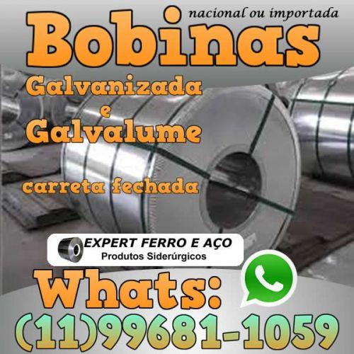 Bobinas de Chapa Galvanizada Galvalume Zincada Aço Carbono Expert Ferro e Aço Distribuidor  fabricar telhas metalicas dry wall slitter steel frame 499095