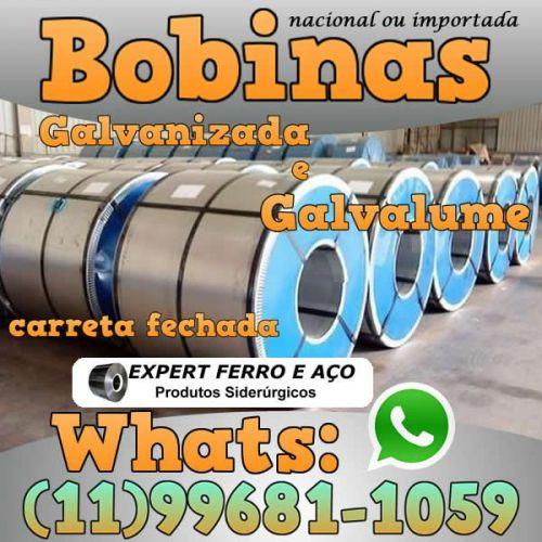 Bobinas de Chapa Galvanizada Galvalume Zincada Aço Carbono Expert Ferro e Aço Distribuidor  fabricar telhas metalicas dry wall slitter steel frame 499096