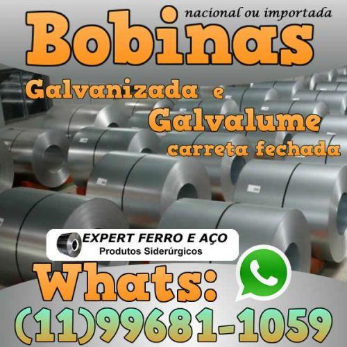 Bobinas de Chapa Galvanizada Galvalume Zincada Aço Carbono Expert Ferro e Aço Distribuidor  fabricar telhas metalicas dry wall slitter steel frame 499097