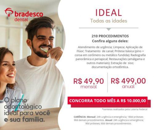 Bradesco Dental Ideal  -vendas e Consultoria para todo Brasil -  71  98810-3708 Bahia e  85   98840-3462 - Ceará  555099