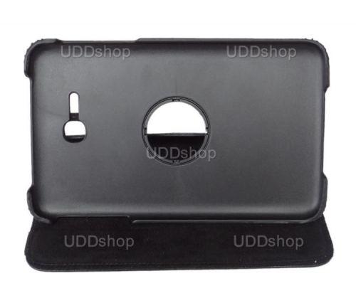 Capa Giratória 360º PRETA Tablet Samsung Galaxy Tab3 Lite 7 SM-T110 e SM-T111 + Frete Grátis 72008
