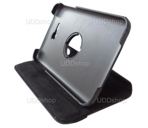 Capa Giratória 360º PRETA Tablet Samsung Galaxy Tab3 Lite 7 SM-T110 e SM-T111 + Frete Grátis 72006