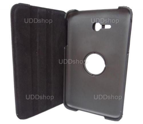 Capa Giratória 360º PRETA Tablet Samsung Galaxy Tab3 Lite 7 SM-T110 e SM-T111 + Frete Grátis 72009