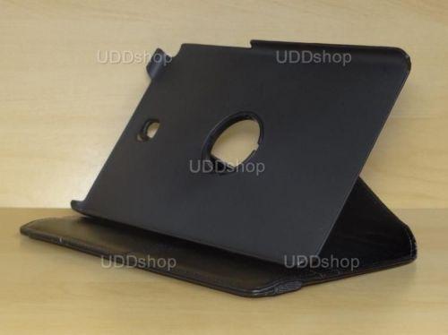 Capa Case Carteira Giratória 360º PRETA Tablet Samsung Galaxy Tab A 8.0 Modelos SM-P350n, SM-P355m, SM-T350n ou SM-T355n + Frete Grátis 162327
