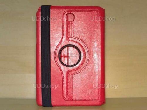 Capa Case Carteira Giratória 360º VERMELHA Tablet Samsung Galaxy Tab A 8.0 Modelos SM-P350n, SM-P355m, SM-T350n ou SM-T355n + Frete Grátis 195841