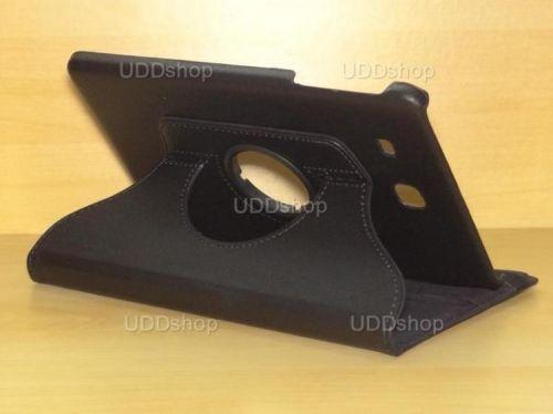 Capa Case Giratória 360º PRETA Tablet Samsung Galaxy Tab E 9.6 Modelos SM-T560n ou SM-T561m + Frete Grátis 198404