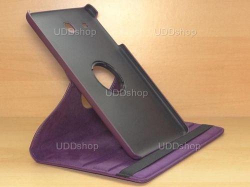 Capa Case Giratória 360º ROXA Tablet Samsung Galaxy Tab E 9.6 Modelos SM-T560n ou SM-T561m + Frete Grátis 212165