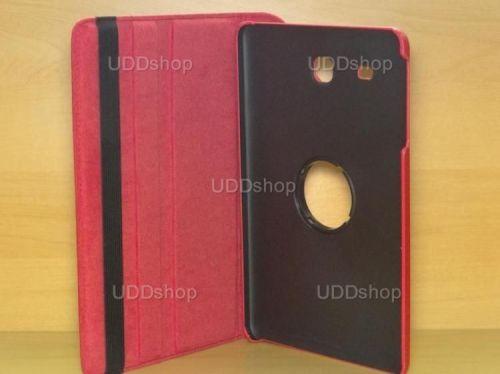 Capa Case Giratória 360º VERMELHA Tablet Samsung Galaxy Tab E 9.6 Modelos SM-T560n ou SM-T561m + Frete Grátis 212189