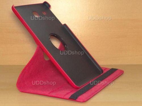 Capa Case Giratória 360º VERMELHA Tablet Samsung Galaxy Tab E 9.6 Modelos SM-T560n ou SM-T561m + Frete Grátis 212192
