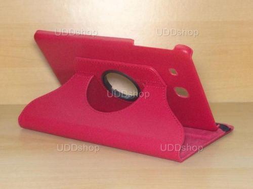 Capa Case Giratória 360º VERMELHA Tablet Samsung Galaxy Tab E 9.6 Modelos SM-T560n ou SM-T561m + Frete Grátis 212193