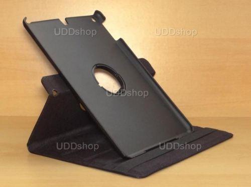 Capa Case Giratória 360º PRETA Tablet Apple iPad 5 Air A1474, A1475 e A1476 -- iPad 6 Air 2 A1566 e A1567 -- V2 + Frete Grátis 212144