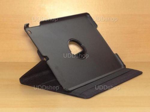 Capa Case Giratória 360º PRETA Tablet Apple iPad 5 Air A1474, A1475 e A1476 -- iPad 6 Air 2 A1566 e A1567 -- V2 + Frete Grátis 212145