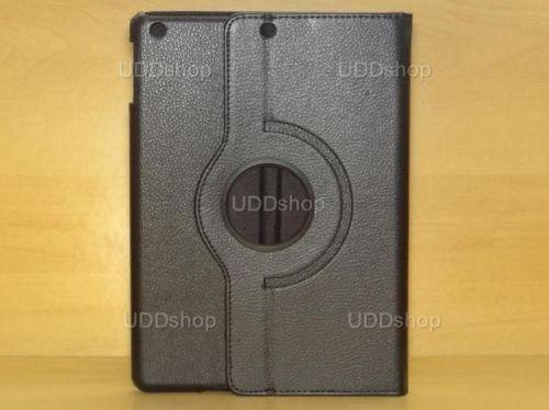 Capa Case Giratória 360º PRETA Tablet Apple iPad 5 Air A1474, A1475 e A1476 -- iPad 6 Air 2 A1566 e A1567 -- V2 + Frete Grátis 212140