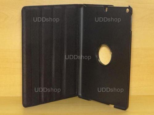 Capa Case Giratória 360º PRETA Tablet Apple iPad 5 Air A1474, A1475 e A1476 -- iPad 6 Air 2 A1566 e A1567 -- V2 + Frete Grátis 212143