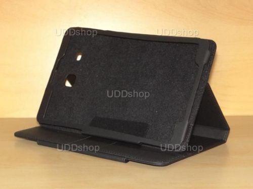 Capa Case Carteira PRETA Tablet Samsung Galaxy Tab E 9.6 Modelos SM-T560n ou SM-T561m + Frete Grátis 216609