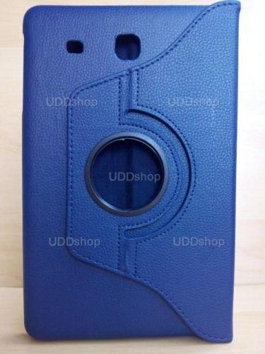 Capa Case Giratória 360º AZUL Marinho Tablet Samsung Galaxy Tab E 9.6 Modelos SM-T560n ou SM-T561m + Frete Grátis 237150
