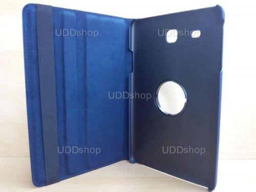 Capa Case Giratória 360º AZUL Marinho Tablet Samsung Galaxy Tab E 9.6 Modelos SM-T560n ou SM-T561m + Frete Grátis 237153