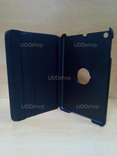 Capa Case Capinha Giratória 360º PRETA Tablet Apple iPad Mini 1 códigos A1432 A1454 A1455 -- iPad Mini 2 códigos A1489 A1490 A1491 + Frete Grátis 256034