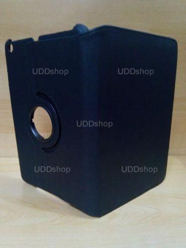 Capa Case Capinha Giratória 360º PRETA Tablet Apple iPad Mini 1 códigos A1432 A1454 A1455 -- iPad Mini 2 códigos A1489 A1490 A1491 + Frete Grátis 256029