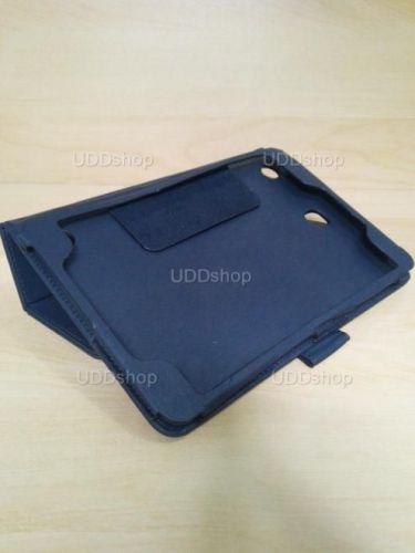 Capa Case Carteira Couro PRETA Tablet Samsung Galaxy Tab A 8.0 Modelos SM-P350n, SM-P355m, SM-T350n ou SM-T355n V3 + Frete Grátis 243959