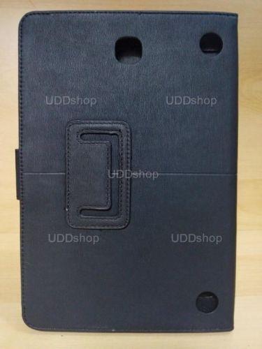 Capa Case Carteira Couro PRETA Tablet Samsung Galaxy Tab A 8.0 Modelos SM-P350n, SM-P355m, SM-T350n ou SM-T355n V3 + Frete Grátis 243954