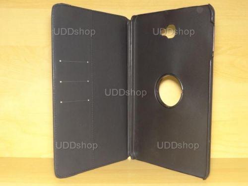 Capa Case Capinha Carteira Giratória 360° PRETA Tablet Samsung Galaxy Tab A 10.1 (2016) Modelos SM-P580, SM-P585m, SM-T580 ou SM-T585m + Frete Grátis 277497