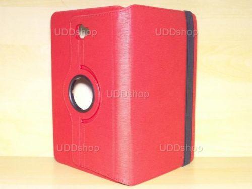 Capa Case Capinha Carteira Giratória 360° VERMELHA Tablet Samsung Galaxy Tab A 10.1 (2016) Modelos SM-P580, SM-P585m, SM-T580 ou SM-T585m + Frete Grátis 277505