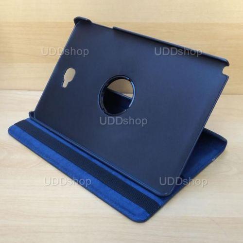 Capa Case Capinha Giratória 360° AZUL Marinho Tablet Samsung Galaxy Tab A 10.1 (2016) SM-P585m V2 + Frete Grátis 303379