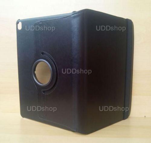 Capa Case Carteira Giratória 360º PRETA Tablet Apple iPad7 Pró 9.7 - A1673 A1674 A1675 + Frete Grátis 339621