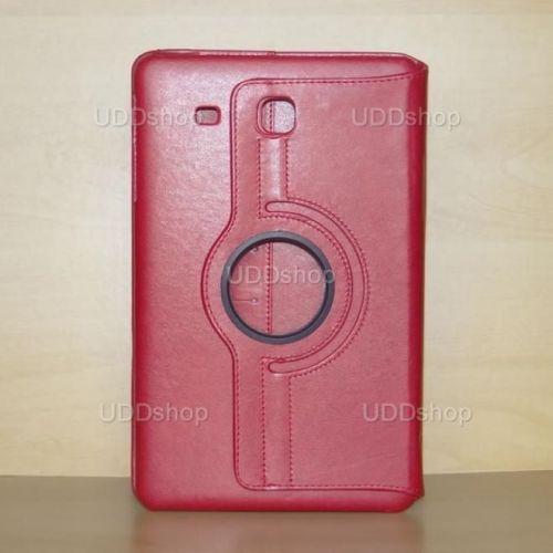 Capa Case Carteira Giratória 360º VERMELHA Tablet Samsung Galaxy Tab E 9.6 Modelos SM-T560n ou SM-T561m + Frete Grátis 339597