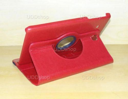 Capa Case Carteira Giratória 360º VERMELHA Tablet Samsung Galaxy Tab E 9.6 Modelos SM-T560n ou SM-T561m + Frete Grátis 339603
