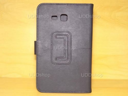 Capa Case Carteira PRETA Tablet Samsung Galaxy Tab3 Lite 7 SM-T110, SM-T111, SM-T113 ou SM-T116 + Frete Grátis 339566