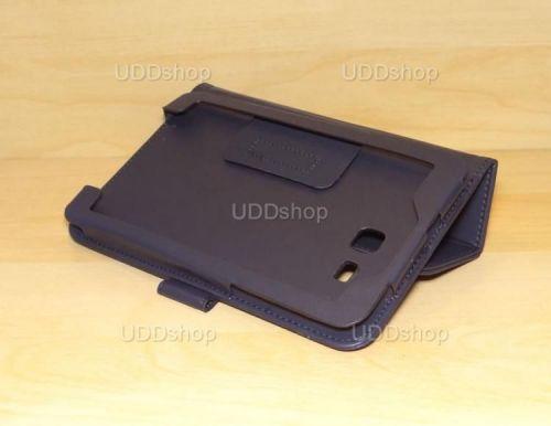 Capa Case Carteira PRETA Tablet Samsung Galaxy Tab3 Lite 7 SM-T110, SM-T111, SM-T113 ou SM-T116 + Frete Grátis 339569