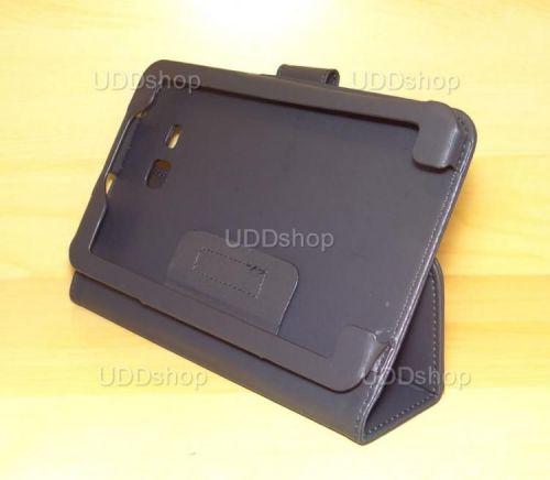 Capa Case Carteira PRETA Tablet Samsung Galaxy Tab3 Lite 7 SM-T110, SM-T111, SM-T113 ou SM-T116 + Frete Grátis 339570